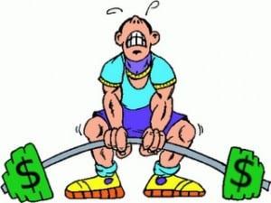 Money-personal-trainer-cartoon