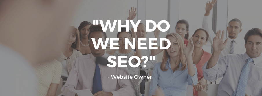 """""""Why Do We Need SEO?"""", Asked a website owner"""