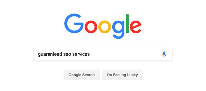 Guaranteed SEO Services - Search